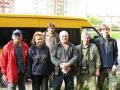 Съемочная группа киностудии Новый курс перед отъездом в экспедицию на Чусовую