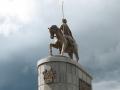 Памятник Демидову на р. Чусовой