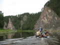На съемках фильма Чусовая-река теснин